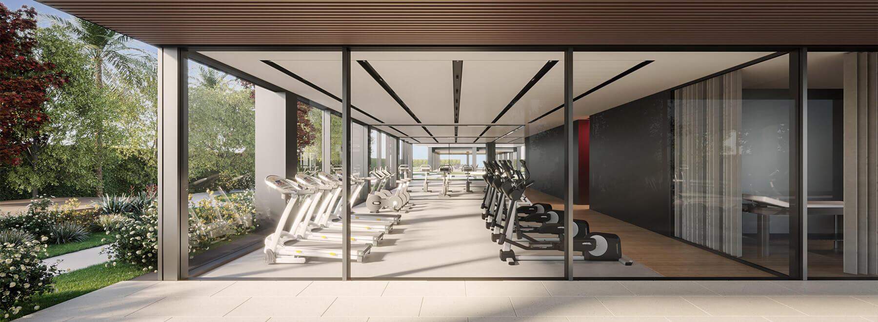 Área de fitness