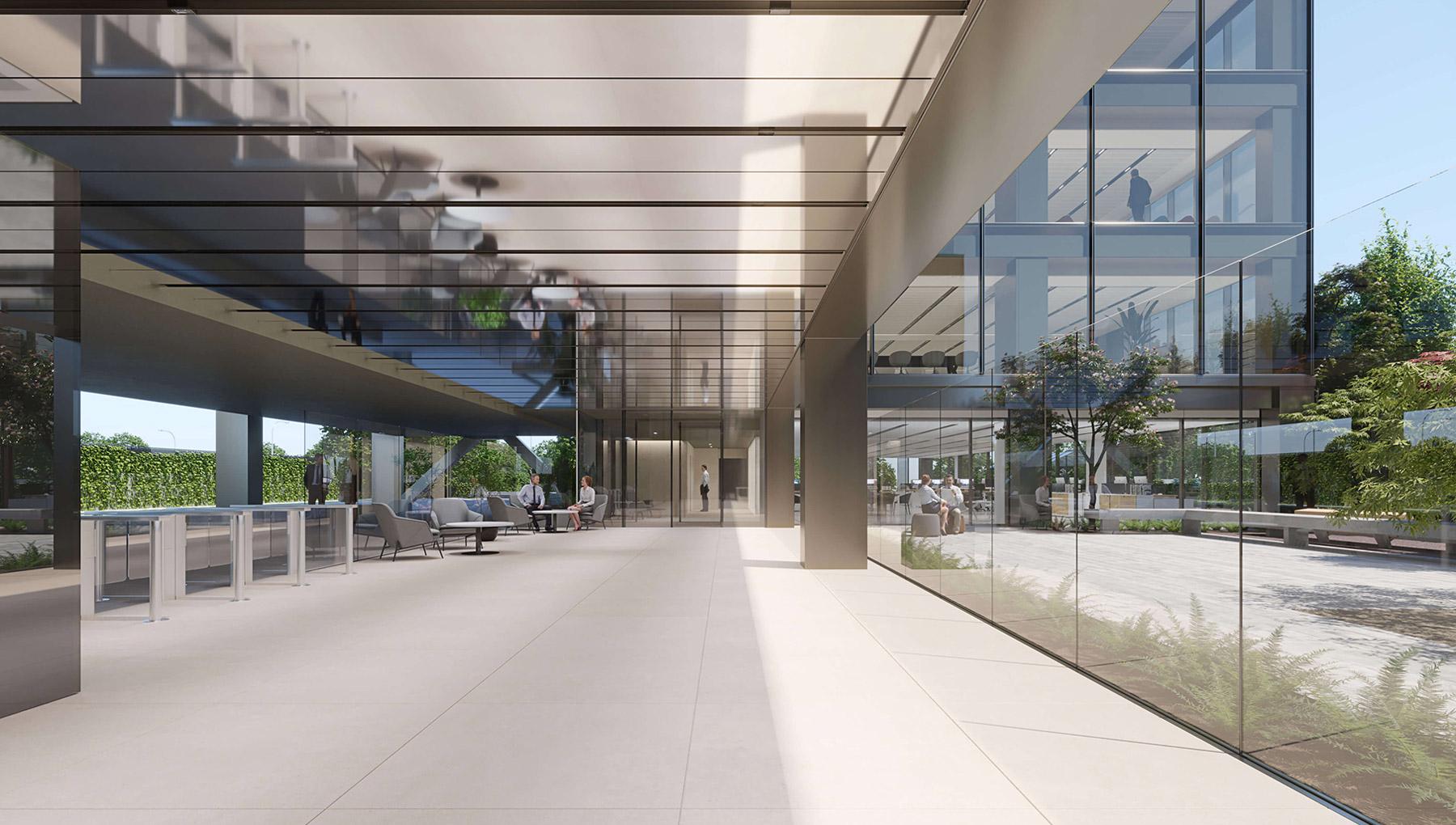 Lobby Edificio Botanic